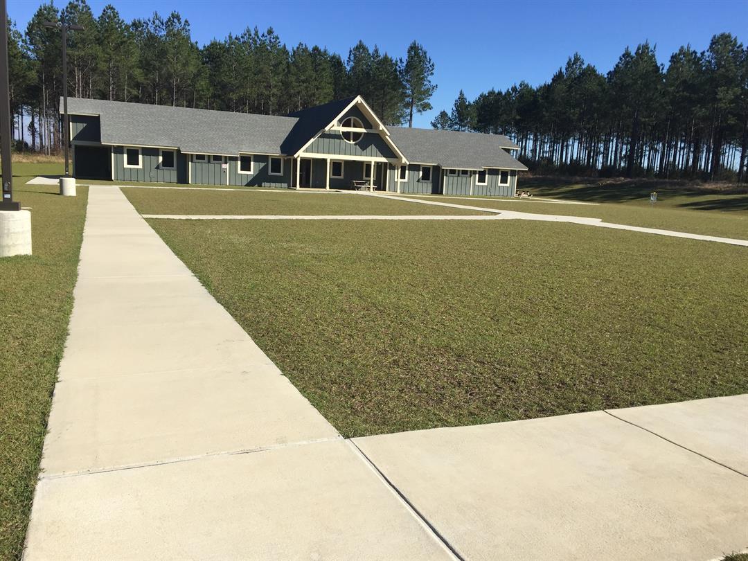 The Baldwin County Wilderness Facility Girls' Dorm in Lottie (Credit: Kati Weis, WALA FOX10 News)