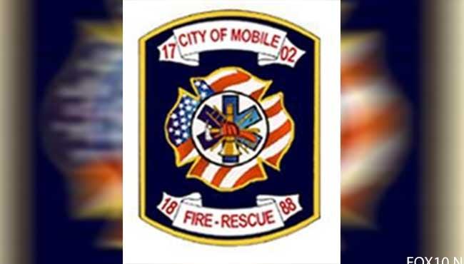 Mobile Fire-Rescue logo. MFR