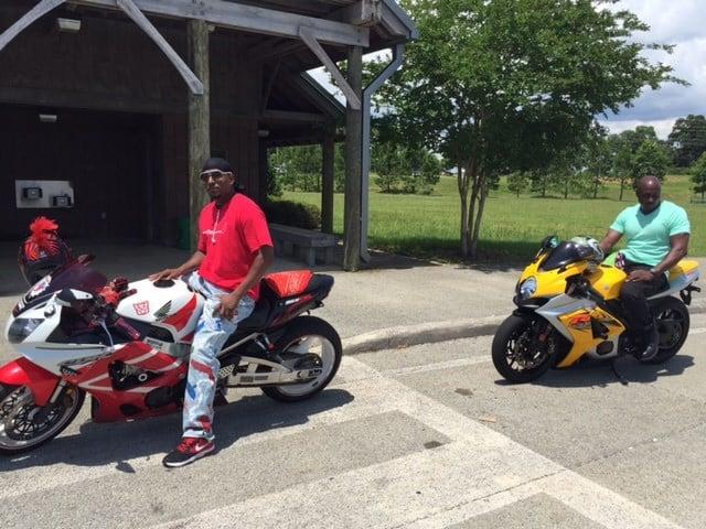 Local bikers