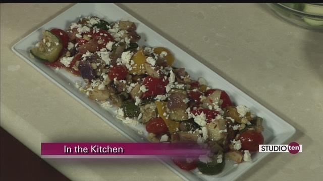 Roasted Summer Vegetable Salad with Feta and Lemon Vinaigrette - FOX10 ...
