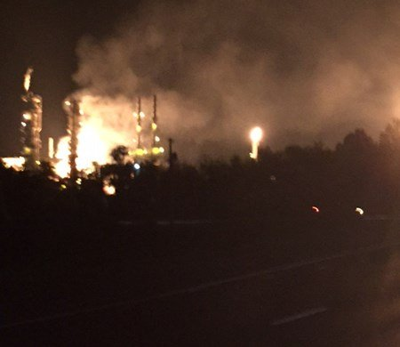 Enterprise Products gas explosion (Photo: Pascagoula Fire Department)