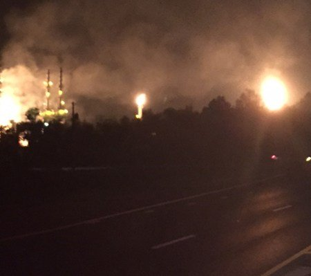 Enterprise Products gas explosion (Photo: Pascagoula Fire Department)