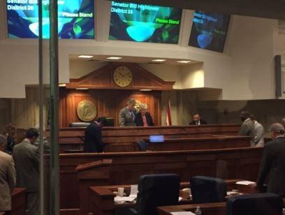 Alabama lottery bill nears final passage
