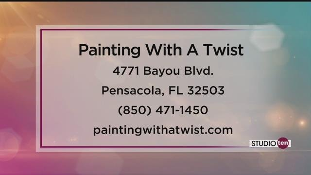 Painting with a twist 39 s new bluetooth sound art canvas for Painting with a twist arizona