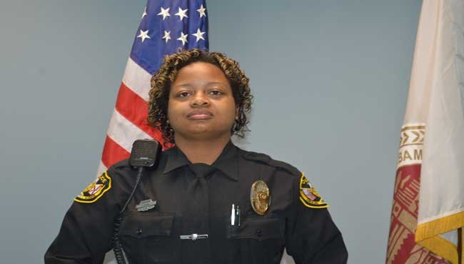 Saraland officials have confirmed that officer Jackie Tucker was shot Wednesday, December 21, on Martha Alleyn Drive in Saraland. Photo: Saraland PD
