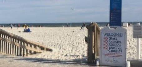 A seasonal alcohol ban for Gulf Shores beaches has returned and will continue until April 16. (FOX10 News)