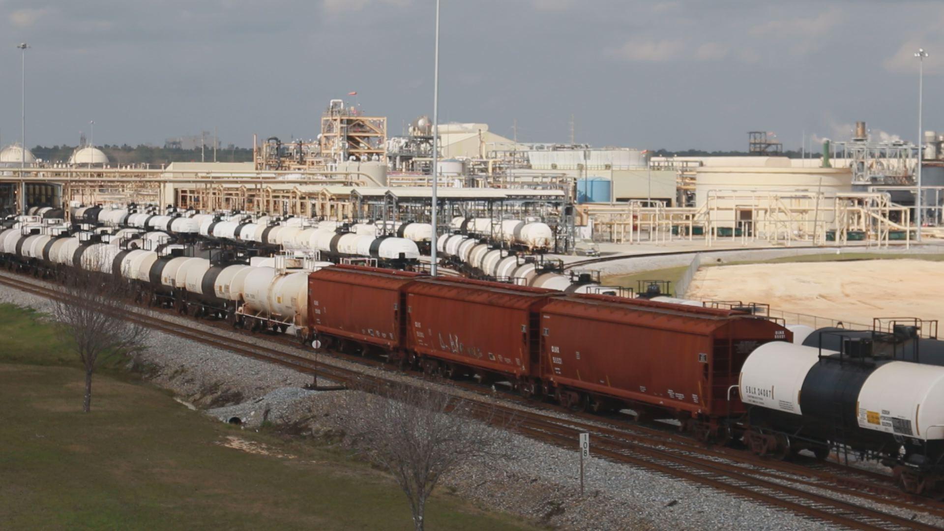 Olin Chlor Alkali Products facility in McIntosh, Ala. (Credit: Franz Barraza, Chief Photographer, WALA FOX10 News)