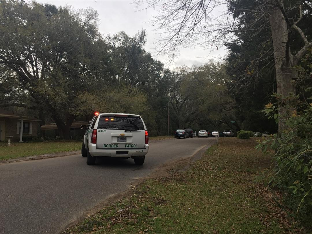 Mobile Police are searching for an individual in connection to a stolen vehicle. A pursuit began at 2:45 p.m., Monday, March 13. Photo: Rebekah Hoeger, FOX10 News
