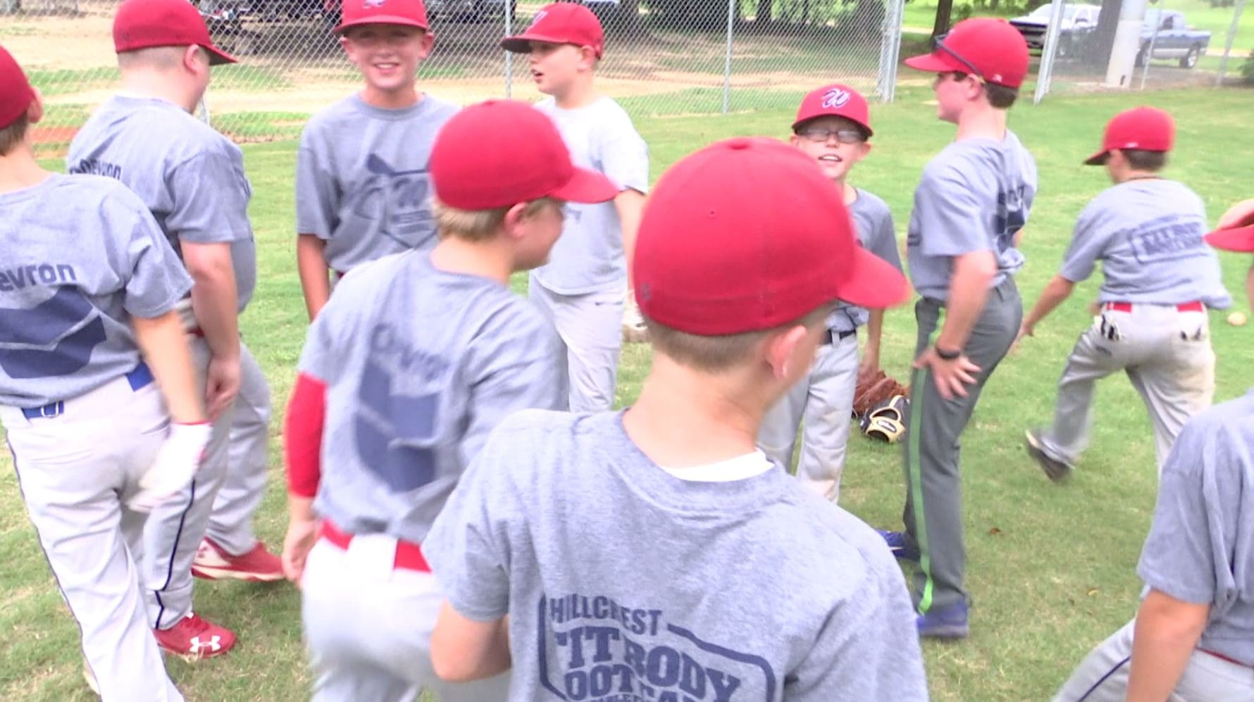 Westside's 9U all-star team is pictured at a recent practice. Photo: Bri MacNaught, FOX10 News