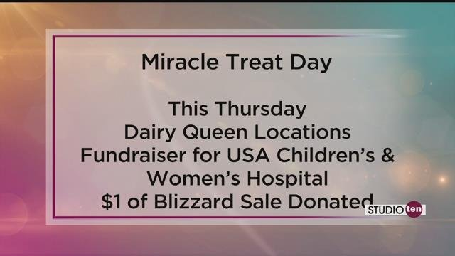 Dairy Queen hands out free blizzard treats to pediatric hospital patients