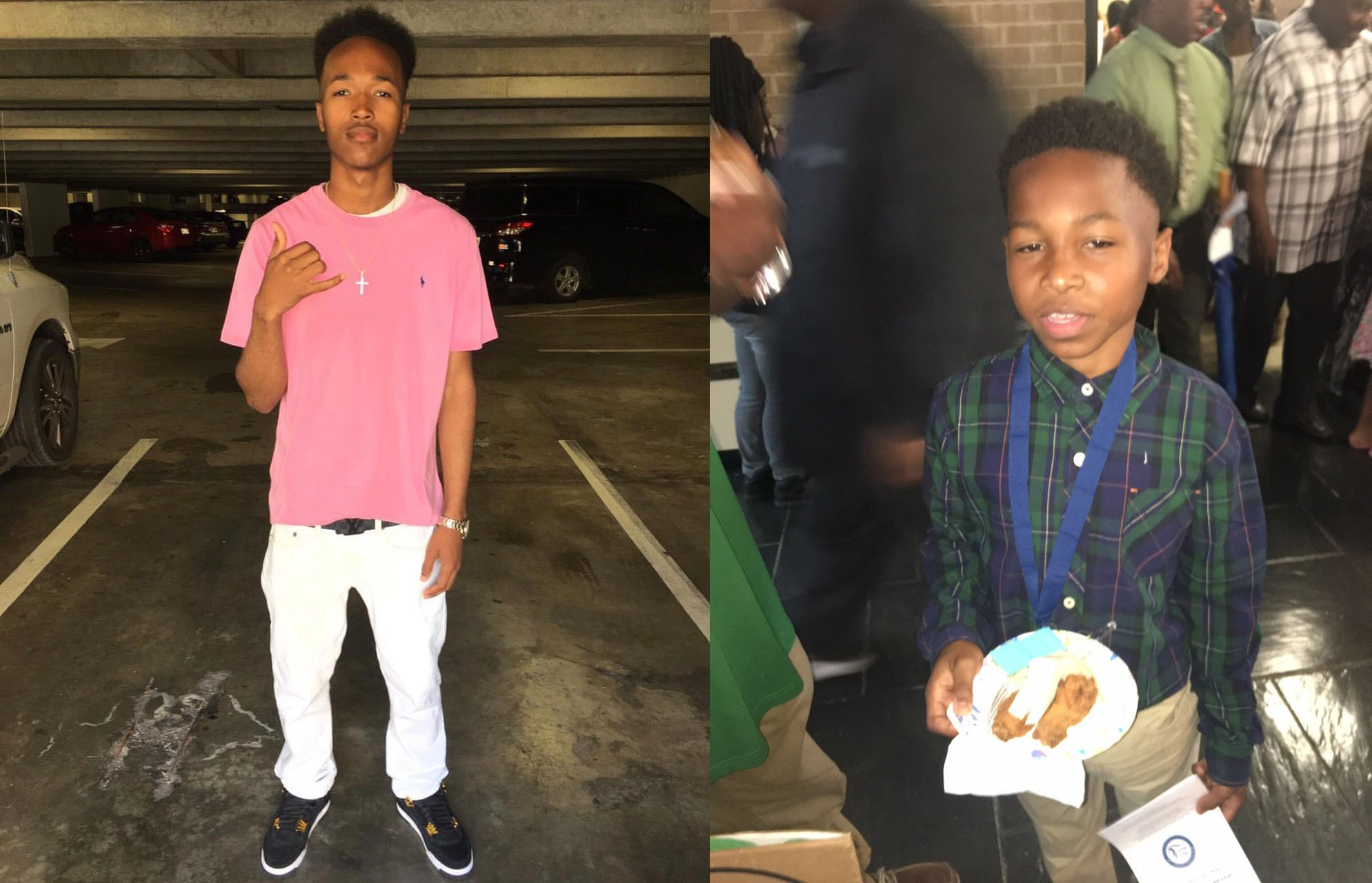 Family members provided these photos of drowning victims Josh Spencer  and Steward Spencer III.