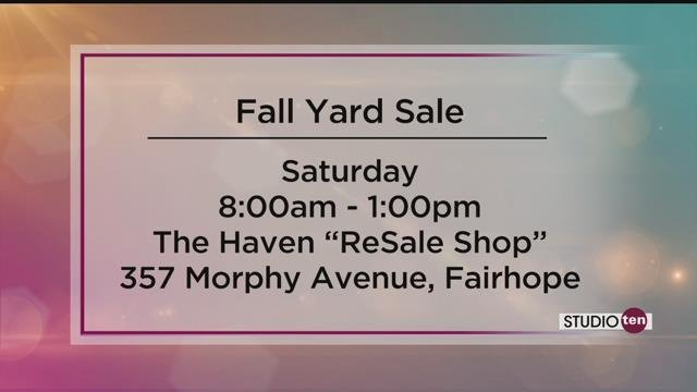 Support The Haven By Shopping Its Annual Fall Yard Sale