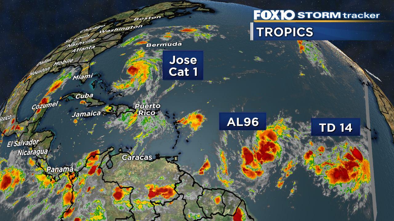 Hurricane Maria threatens Caribbean