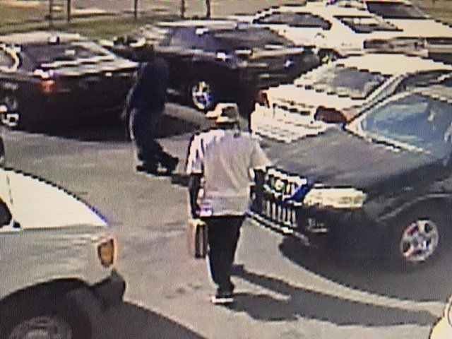 Police say this man took off with a briefcase full of car titles from American Motors Friday, September 15th. Photo: American Motors.