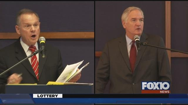 Roy Moore and Luther Strange (Image: FOX10)