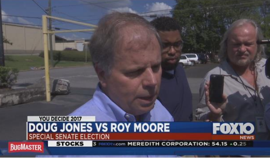 Doug Jones. Photo: FOX10 News