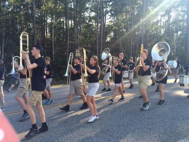 Gulf Shores High School Band marches proud & strong ...