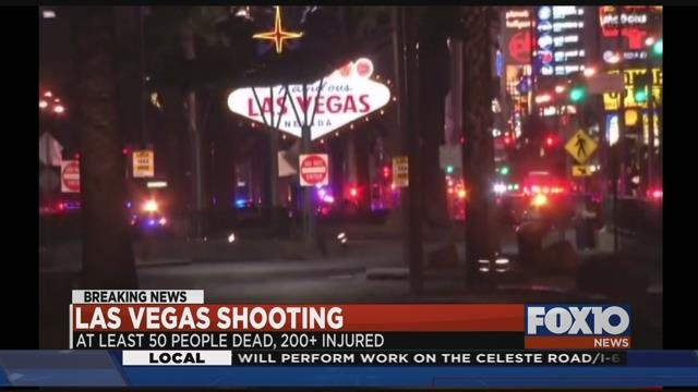"Foley mom: Daughter at vegas concert said ""It felt like sparks were flying next to her hair"" Photo: FOX10 News"