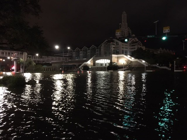 Water Street, and Canal Street, live up to their names. Photo: FOX10 News
