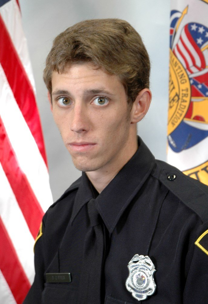 Devin O'Shea has been named Officer of the Month for September 2017. Photo: MPD