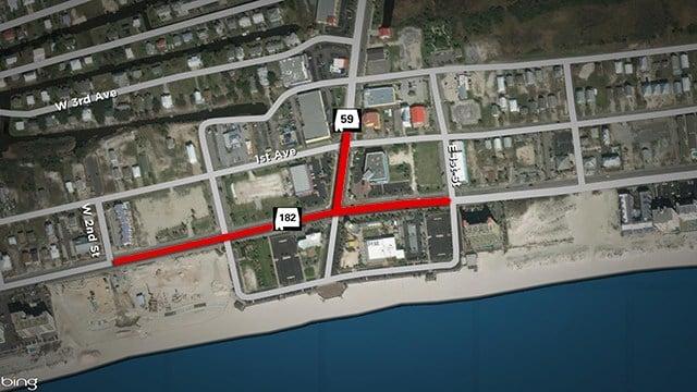 Roads Closed for Shrimp Festival