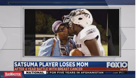 Community members are coming together to help a young man who recently lost his mother to breast cancer.  Photo: FOX10 News