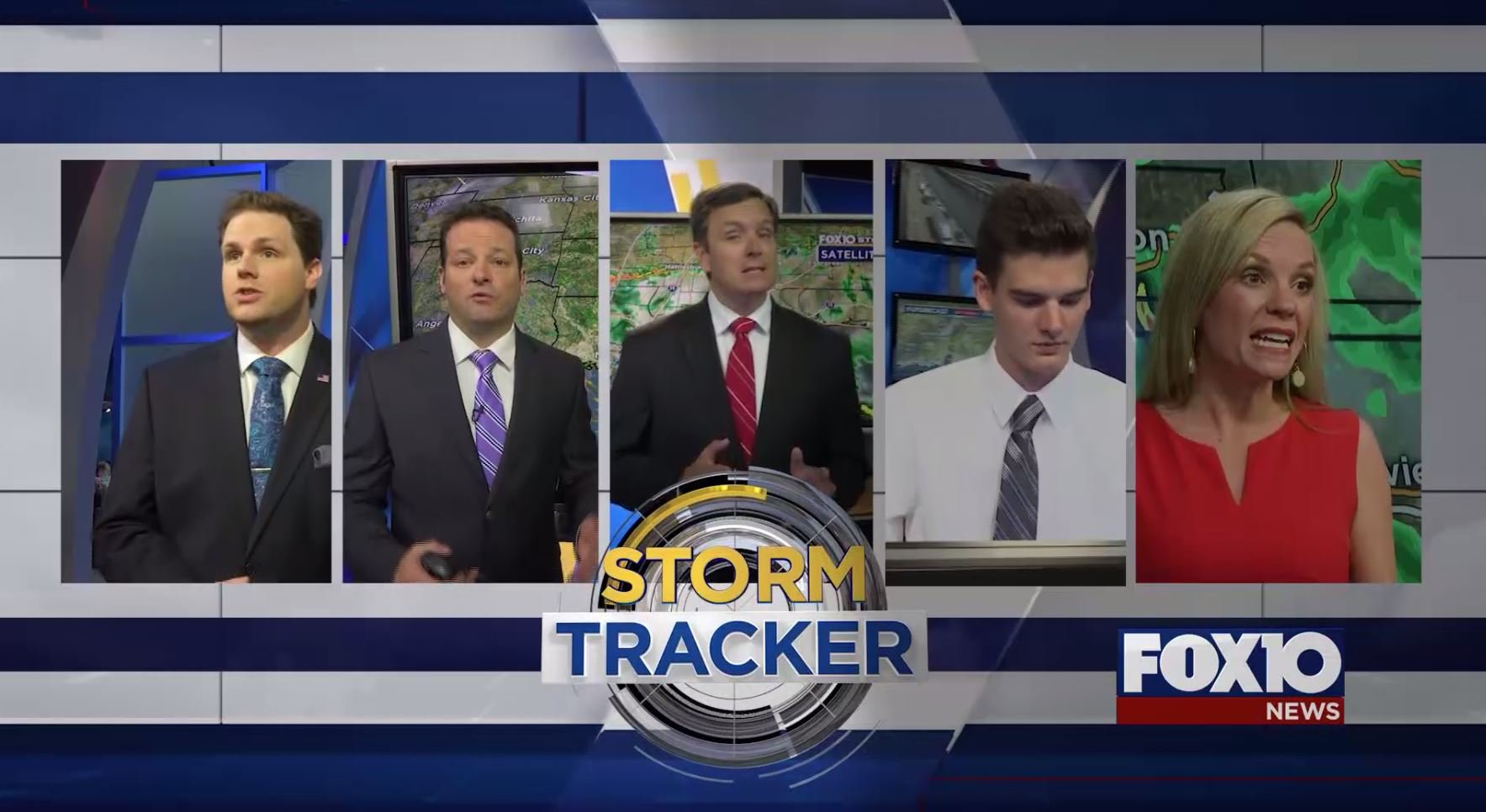 FOX10 StormTracker team