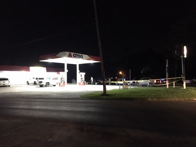 Shots were fired at the Citgo gas station on Riverside Drive and Clubhouse Road