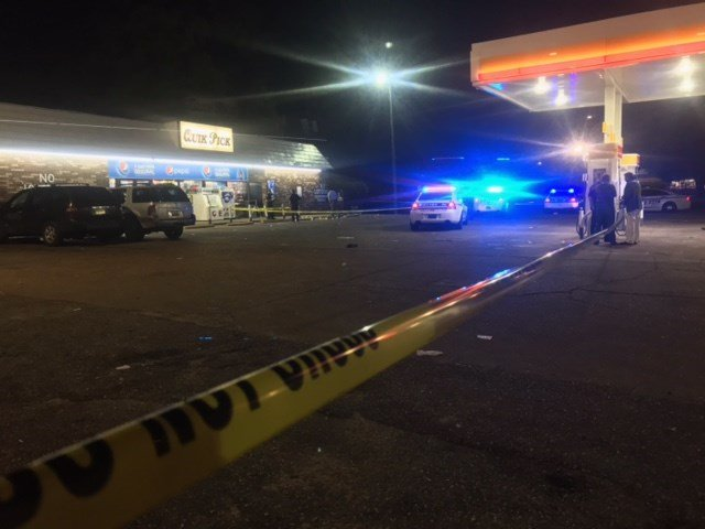 MPD: Two men shot at Quick Pick Shell gas station, 2311 St, Stephens Road. 1 dead, 1 injured.