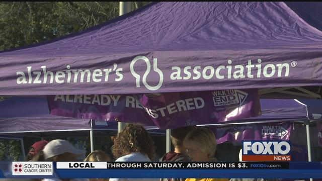 Mobile Bay Area 2017 Walk to End Alzheimer's. Photo: FOX10 News