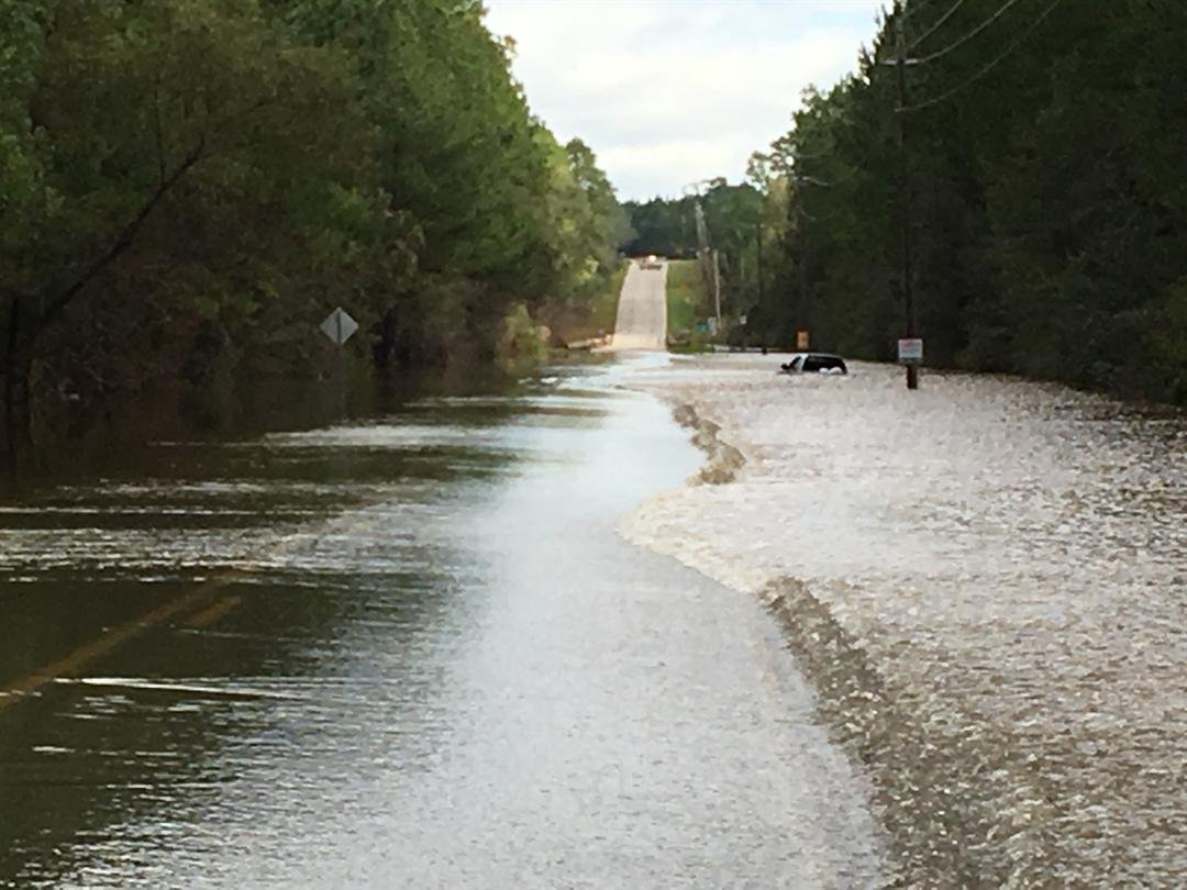 woman rescued from flooded vehicle near styx river bridge