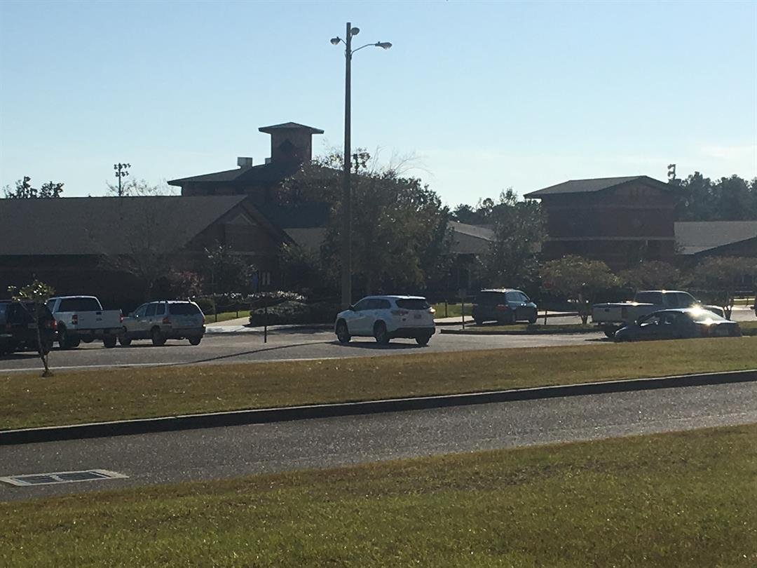 Alma Bryant High School on Thursday, November 2, 2017 (FOX10 News)