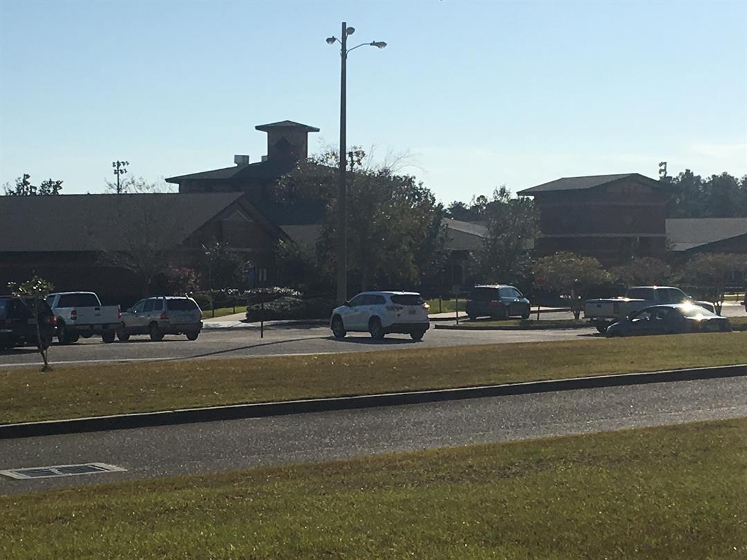 Alma Bryant High School on Thursday, November 2, 2017 (FOX10 News)