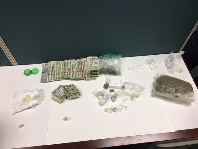 Items recovered in apartment (Okaloosa County Sheriff's Office)