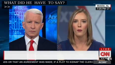 FOX10 News Investigative Reporter Kati Weis made a guest appearance on CNN's Anderson Cooper 360 Friday night to discuss a recent interview with State Auditor Jim Zeigler. Photo: FOX10 News