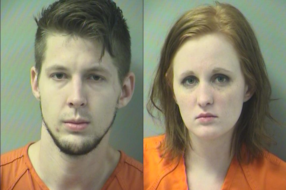 Cory Hagwell and Destinee Merrell (Okaloosa County Sheriff's Office)