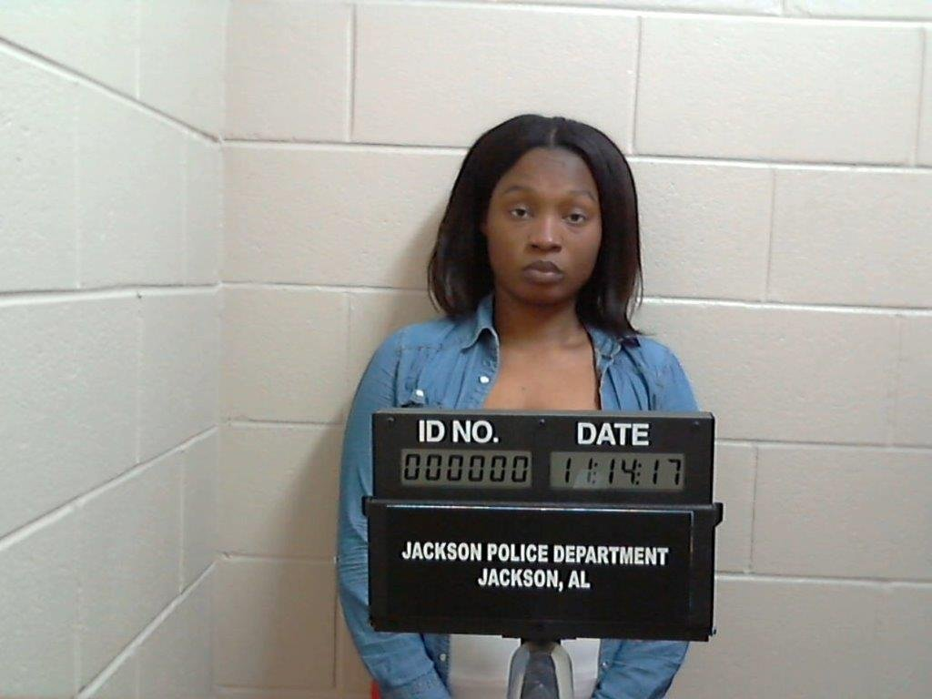 Jalesa Gaines mug shot (Jackson Police Department)