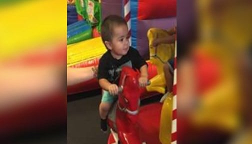 The Brighton Police Department is asking for the public's assistance in locating one-year-old Christopher Carrizal Jr. Photo: ALEA