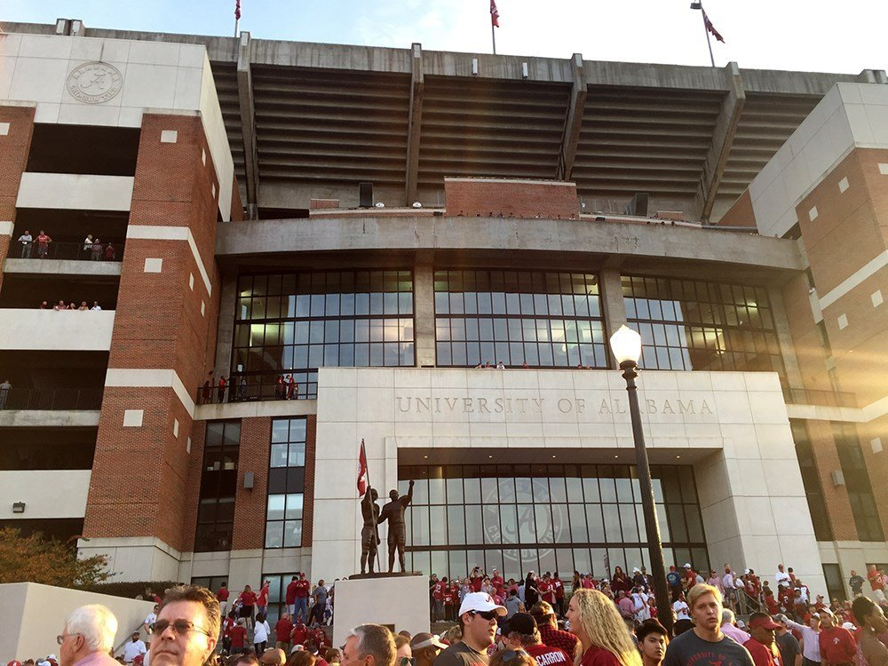 Bryant-Denny Stadium at the University of Alabama in Tuscaloosa, Ala. (Photo: Bri MacNaught, FOX10 News)
