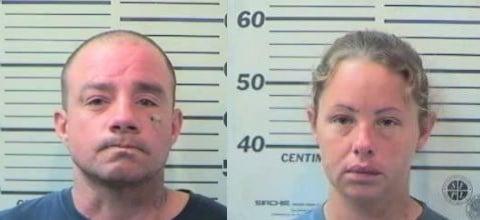 Timothy Montgomery Bufford and Amber Jolen Kuta (Photos: Mobile County Metro Jail)