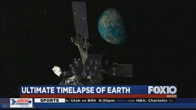 Ultimate time lapse of earth