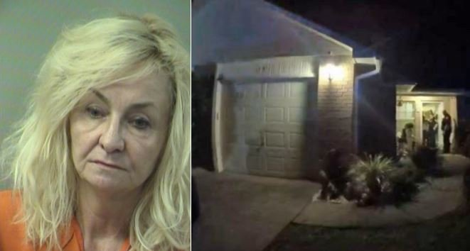 Barbara Wozniak faces a murder charge after her husband's body was found in this Shalimar home. (Photos: Okaloosa County Sheriff's Office)