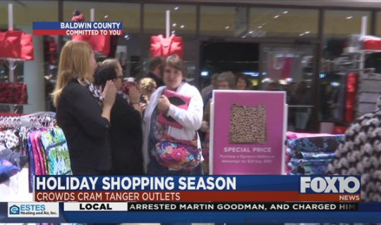 Turkey and stuffing may still be on the table, but many Americans are out in the streets getting a head start on stuffing their Christmas stockings.