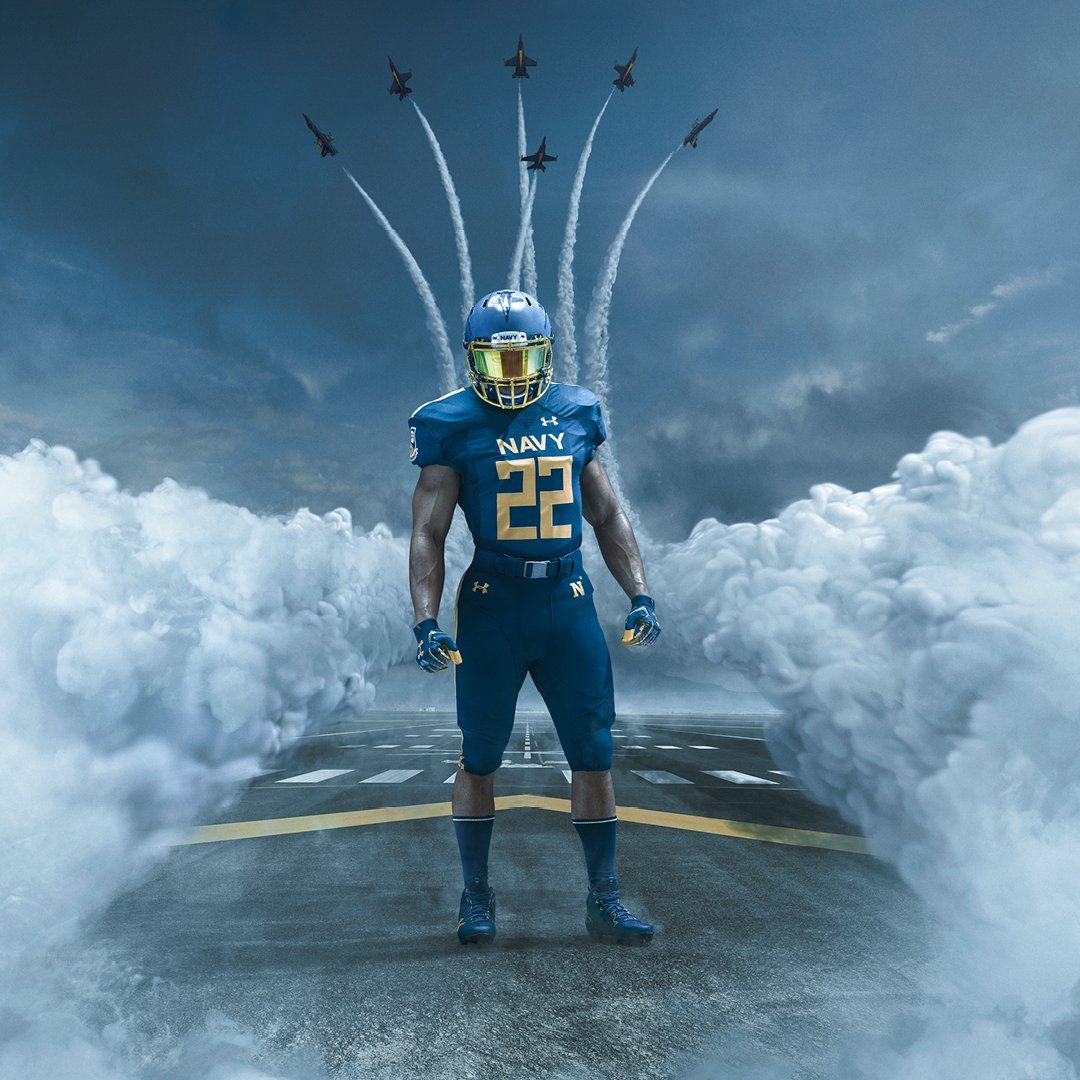 Midshipmen Unveil Blue Angels Uniforms