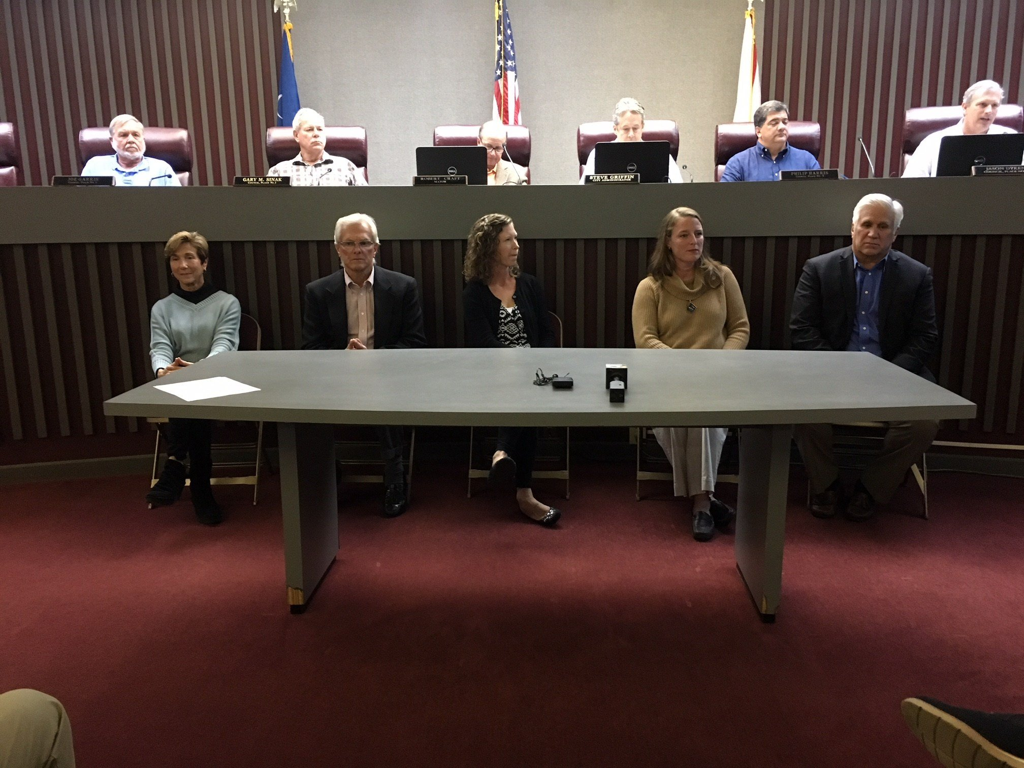Gulf Shores School Board members (FOX10 News)