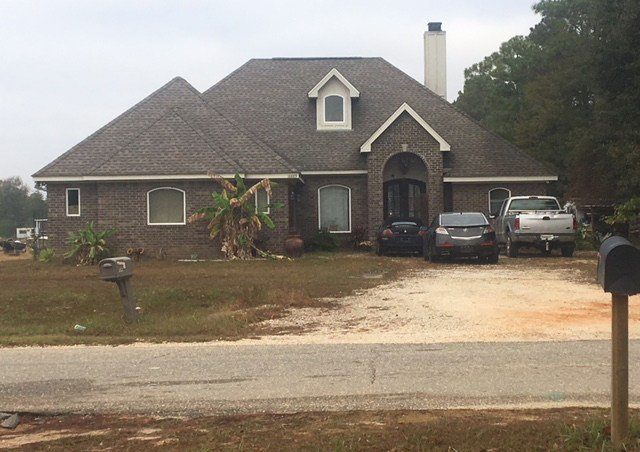 A shot or shots were fired during a domestic dispute at this Gulf Shores home, police said. (Photo: Steve Alexander, FOX10 News)