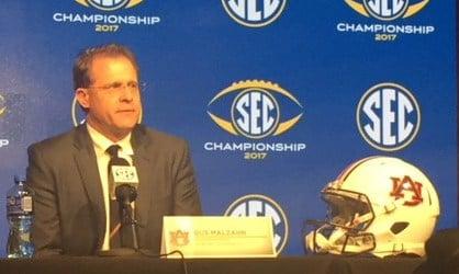 Auburn coach Gus Malzahn (Bri MacNaught/FOX10 News)