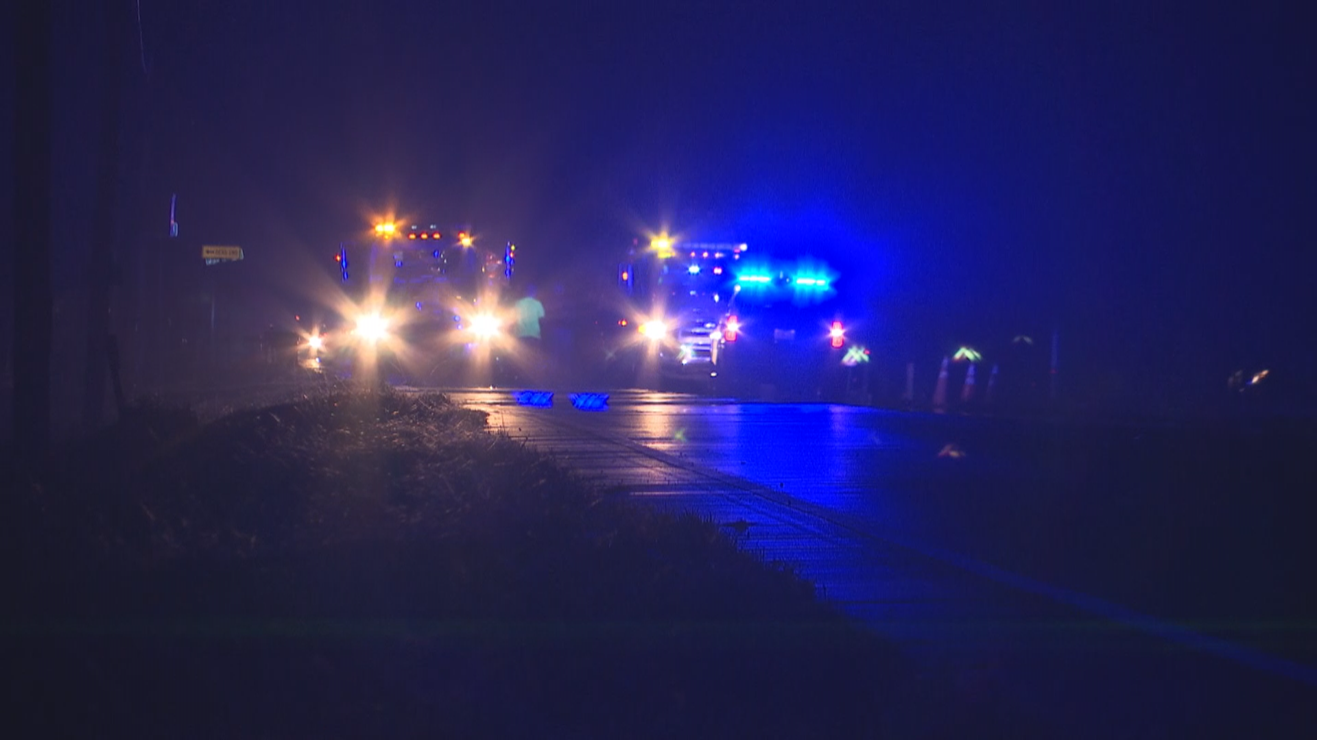 Deadly crash on Dauphin Island Parkway on December 4, 2017 (FOX10 News)