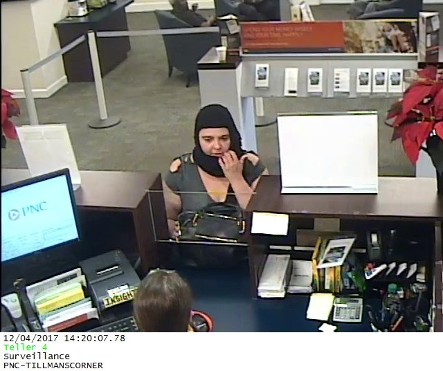 If you can identify the woman, you are asked to call Mobile Police at 251-208-7211. Photo: MPD