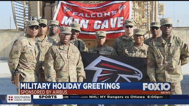 Airbus helping military share holiday greetings